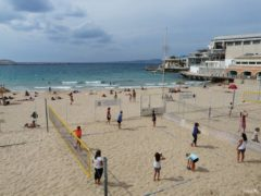 Marseillan beach for the locals