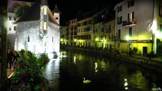 Annecy called the little Venice of France
