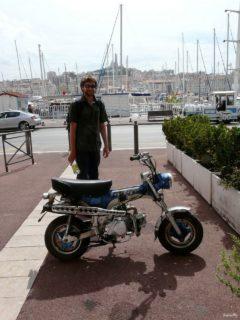 A little motorbike in Marseilles