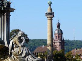 Wurzburg fountain