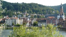 Heidelberg - View of the city
