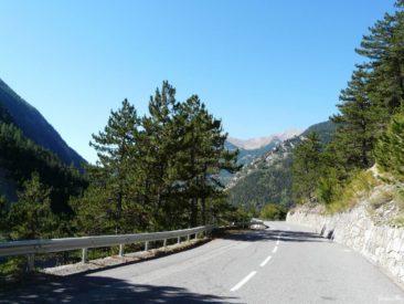 Przełęcz Col de Larche / Colle della Maddalena - trasa