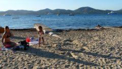 Beach at Saint Tropes