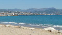 Beach at Antibes