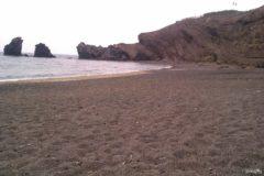 Black beach of Cap d'Agde