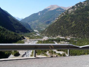 Przełęcz Col de Larche / Colle della Maddalena - widok