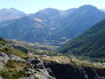 The views from the Col de Vars