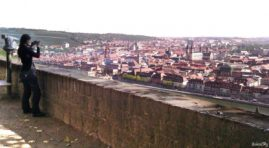 Panorama of the city of Wurzburg