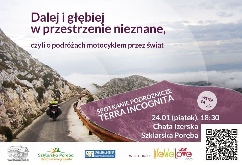 Spotkanie podróżnicze Terra Incognita - LifeWeLove