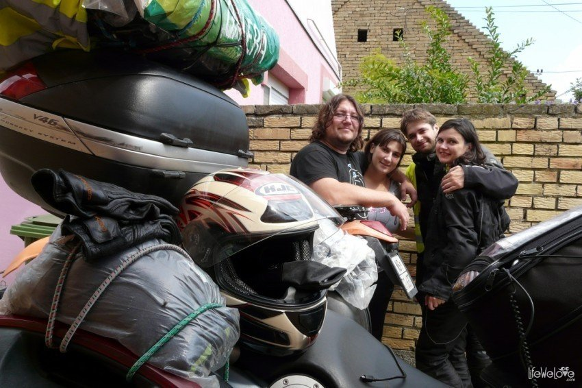 Serbia motocyklem