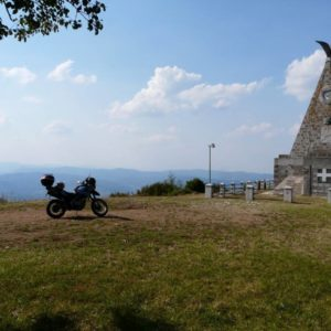 Serbia motocyklem - Gucevo
