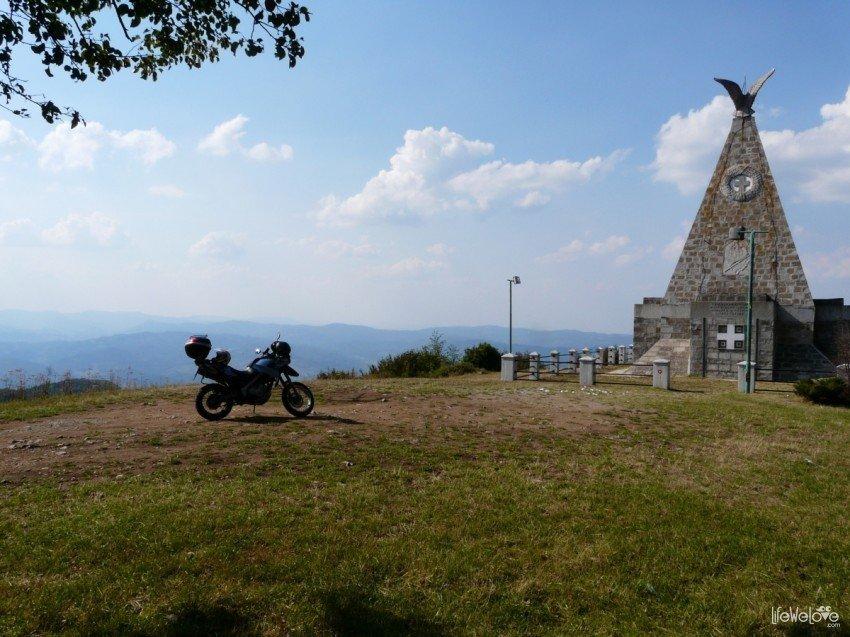 Serbia by motorbike - Gucevo
