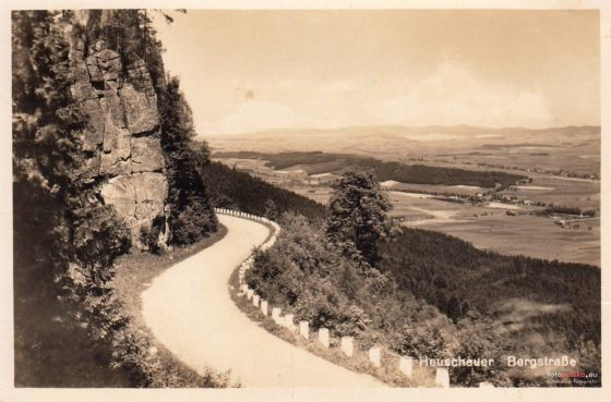 Hundred Curves Road - old photography