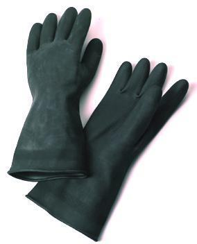 Waterproof gloves made of latex