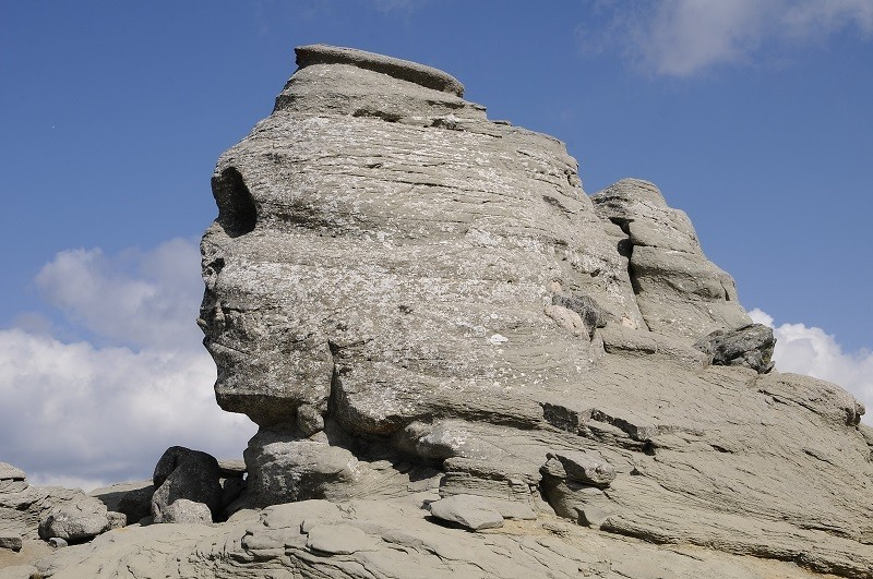 Sphinx from the Bucegi Mountains