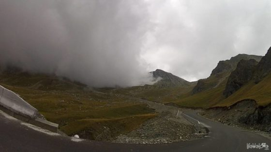 Transalpina - dragon cloud