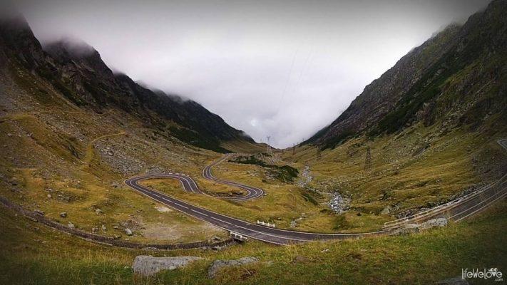 Najpiękniejsza droga w Rumunii