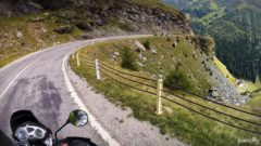 Transfagarasan Road by bike