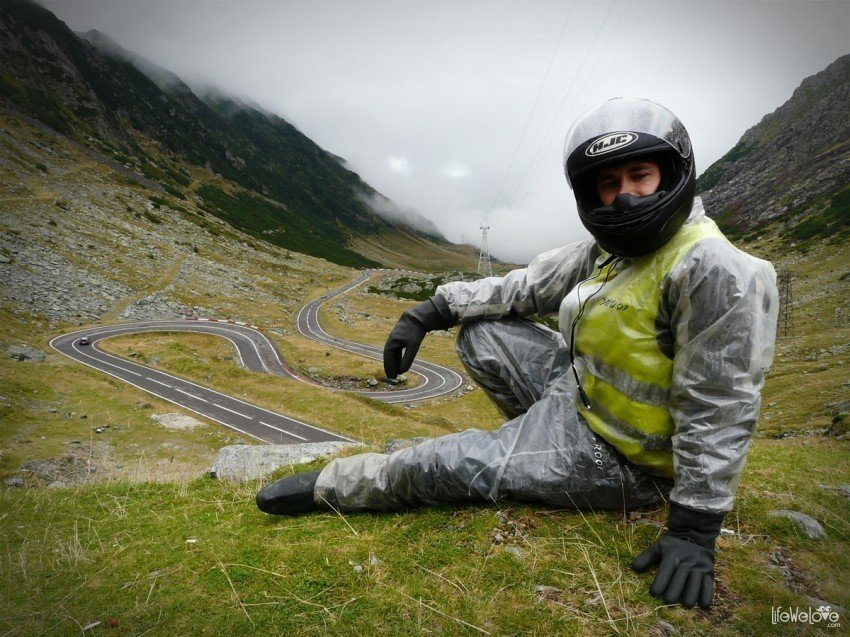 Waterproof clothing for bikers
