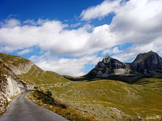 The road in Durmitor