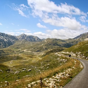 The Balkans by motorbike, part II: Tara and Durmitor in Montenegro