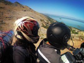 Lake Skadar on motorbike