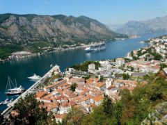The Bay of Kotor