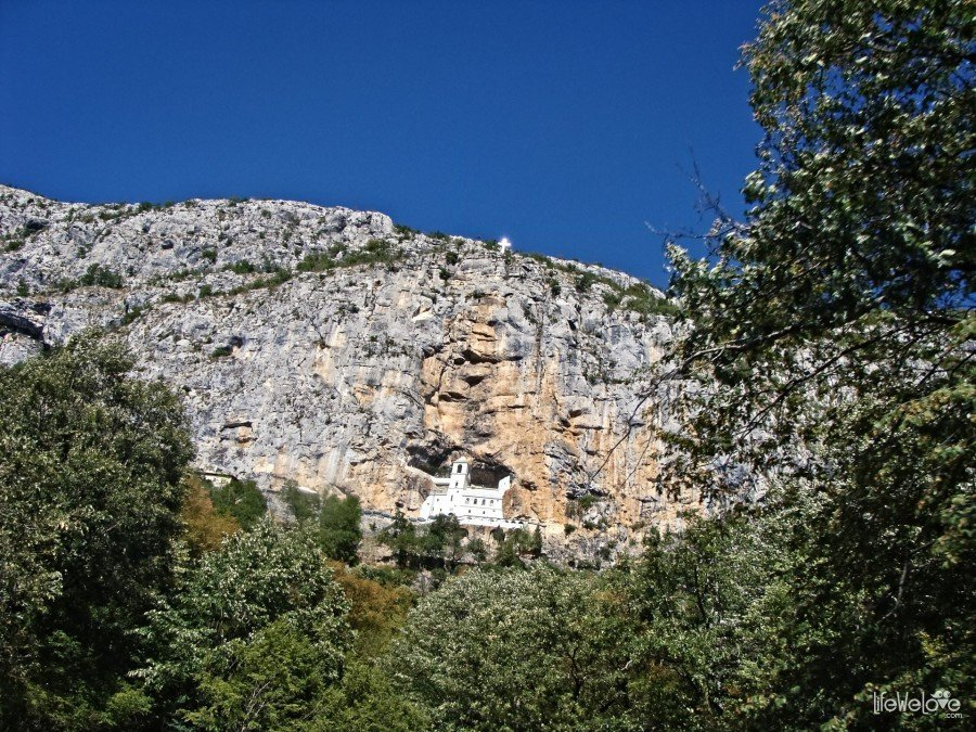 The Monastery of Ostrog
