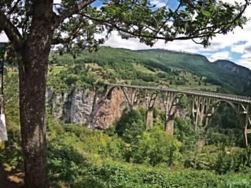 Most nad rzeką Tara w Czarnogórze