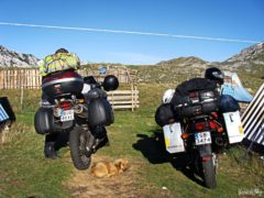 Motorbikes in Durmitor