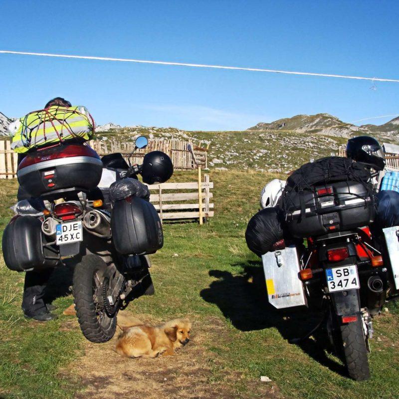 Motocykle w Durmitorze
