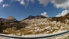 Droga w Parku Narodowym Lovcen