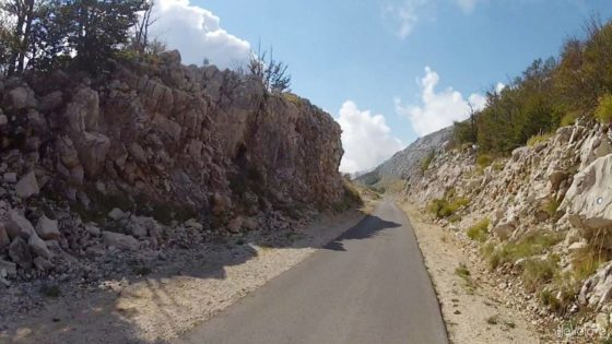 The road from Lovcen