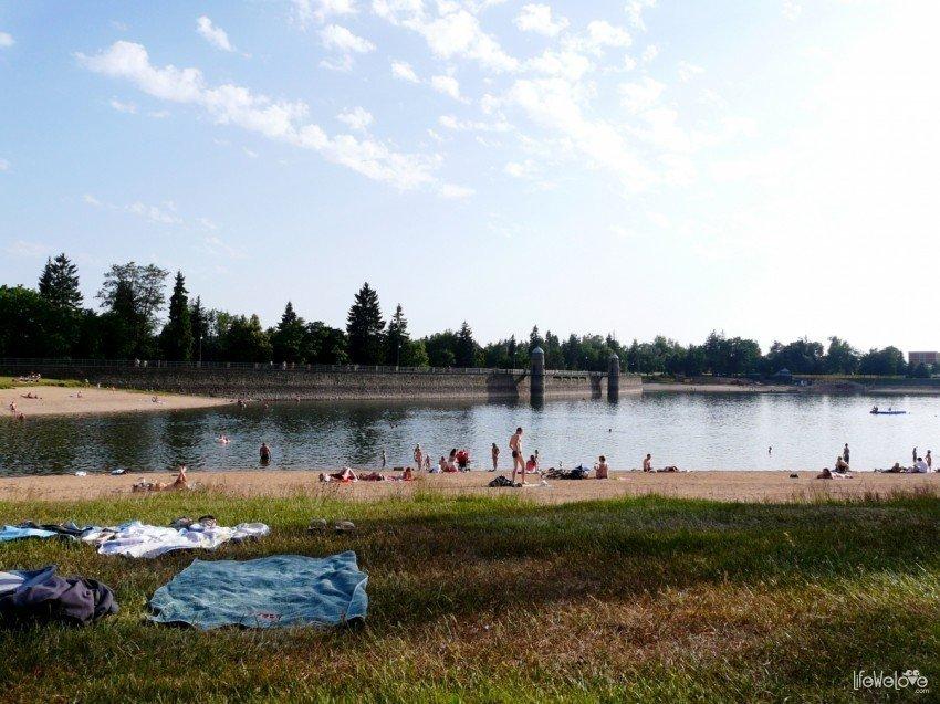 Kąpielisko w drodze na Jested