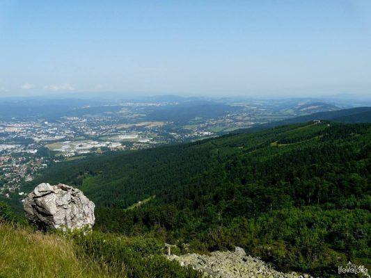 Jested - panorama na okolice
