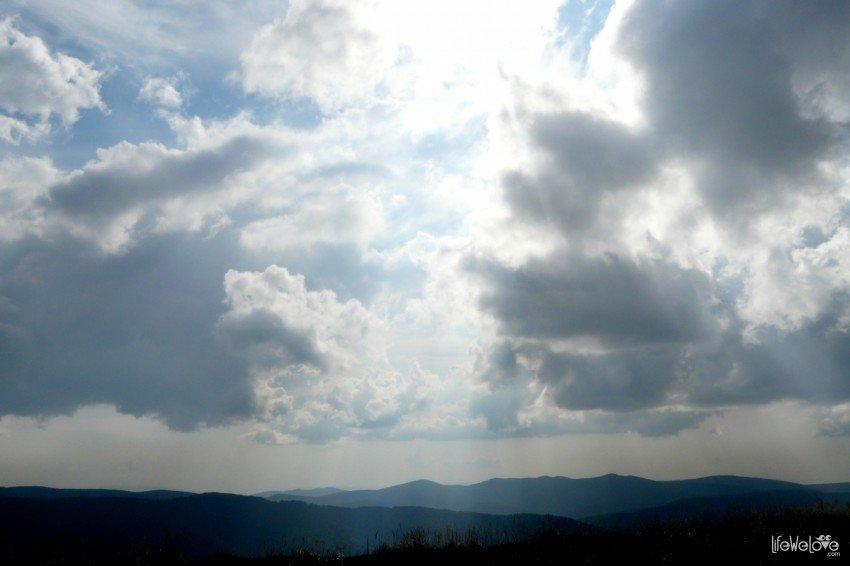 Bieszczadzkie niebo