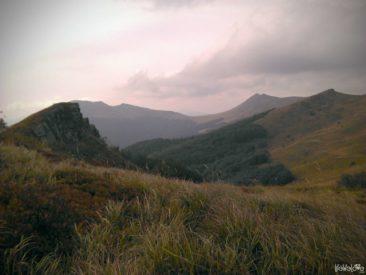 Górskie grzbiety