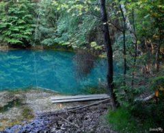 Azure lakelet