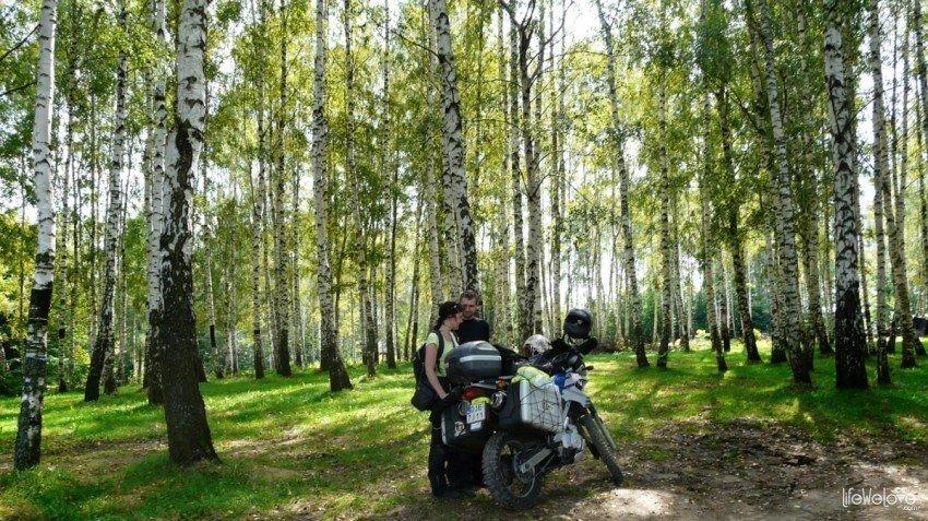 Motocyklem w Bieszczady