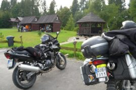 Motorcycle camp - Poland