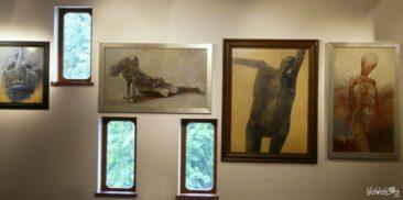 Wystawa Beksińskiego w Sanoku