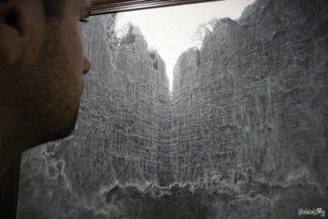 Zamek w Sanoku, obraz Beksińskiego