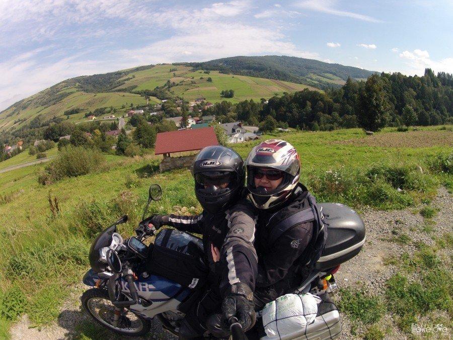 Bieszczady by motorcycle