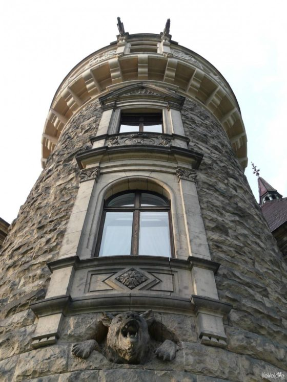 Tower of the Moszna Castle