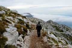 Na szczycie góry Sveti Jure