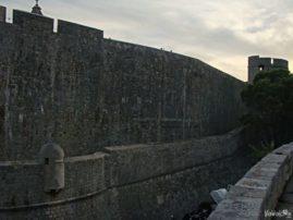 Dubrownik mury miasta