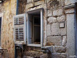 Dubrownik okno