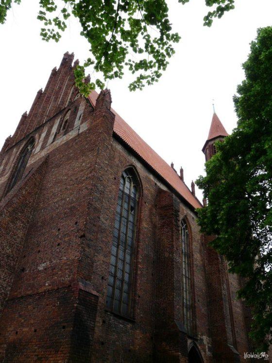 Gotycki kościół - Chełmno