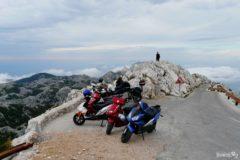 Parking na szczycie Sveti Jure