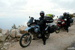 BMW F650 GS and Honda Africa Twin